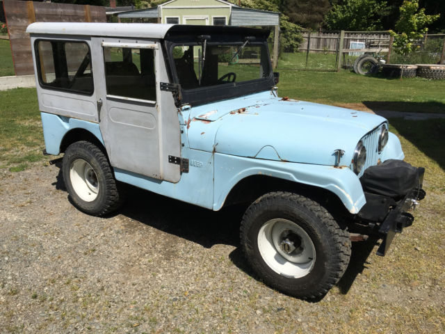 1956 Willys Jeep CJ-5 4x4 Ford V8 metal hard top for sale in