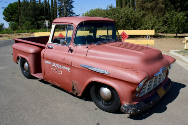 1957 Chevrolet Big Window V8 Pickup, California Truck, Hot