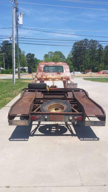 1957 chevy pickup Vintage Hauler ramp truck rollback ...