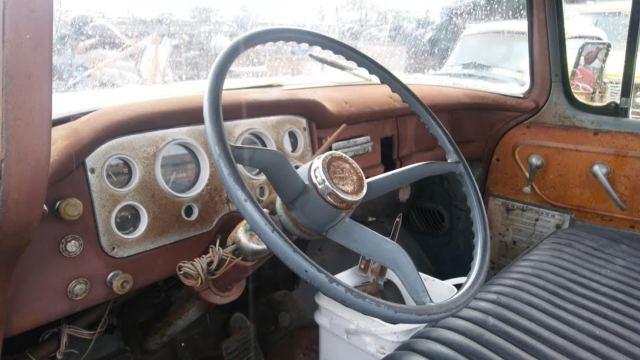 1957 gmc 100 pickup big back window patina shoptruck ratrod chevrolet 1956 1955 for sale in. Black Bedroom Furniture Sets. Home Design Ideas