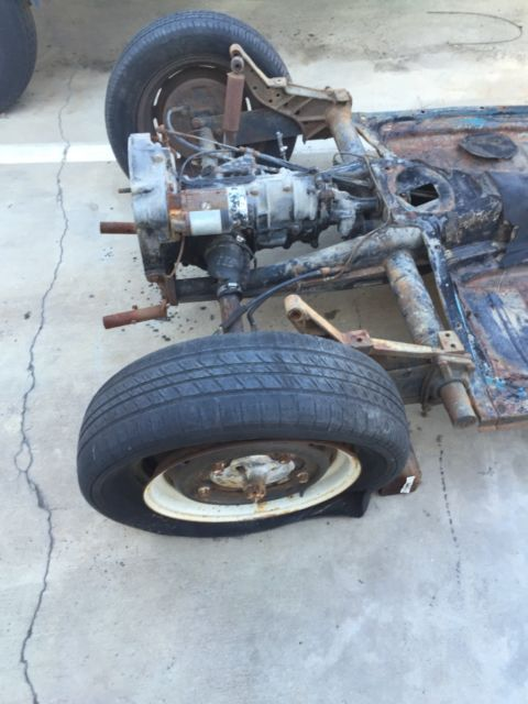 1957 VW Beetle Rolling Chassis for sale in Long Beach, California, United States