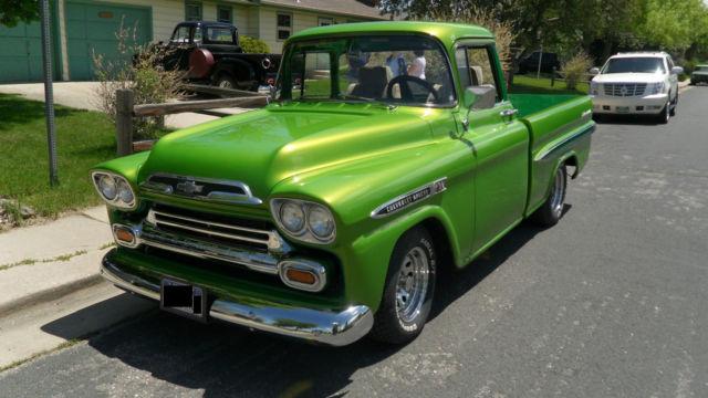 1958 Chevrolet Apache Fleetside Pickup for sale in Laporte