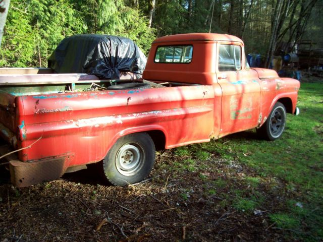 1959 chevy apache fleetside project truck for sale in snohomish washington united states