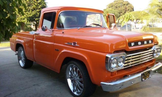 1959 ford f150 shortbed truck v8 351 engine for sale in fullerton california united states. Black Bedroom Furniture Sets. Home Design Ideas