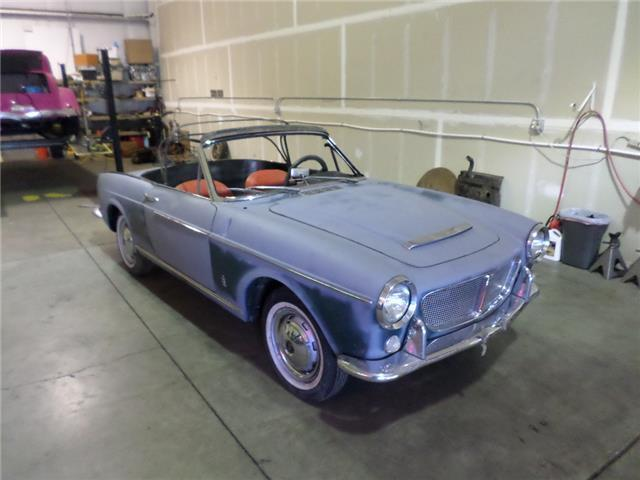 1960 fiat pininfaina 1200 convertible convertible 1200 56 000 miles 1200 cc for sale in eugene. Black Bedroom Furniture Sets. Home Design Ideas