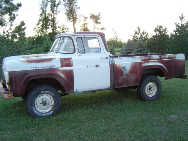 1960 ford 4x4 halfton pickup for sale in ottertail minnesota united states. Black Bedroom Furniture Sets. Home Design Ideas