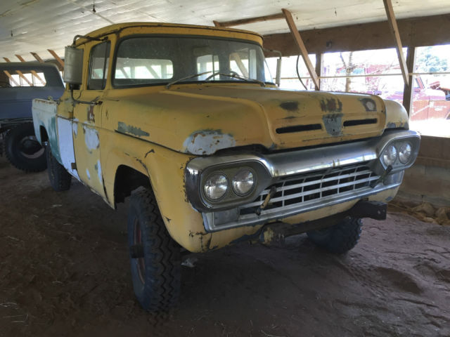 1960 ford f 250 crew cab mega rare for sale in atlanta georgia united states. Black Bedroom Furniture Sets. Home Design Ideas