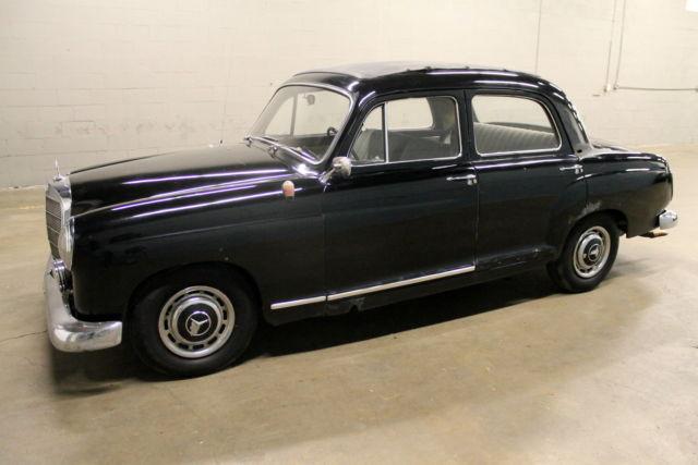 1960 mercedes benz 190d 190 series diesel no reserve for Mercedes benz 190d for sale