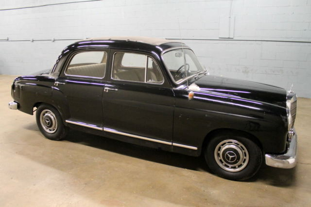 1960 mercedes benz 190d 190 series diesel no reserve for sale in addison illinois united. Black Bedroom Furniture Sets. Home Design Ideas