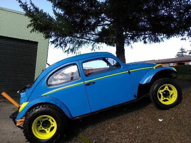 1960 vw baja beetle bug custom made original classic for sale in portland oregon. Black Bedroom Furniture Sets. Home Design Ideas