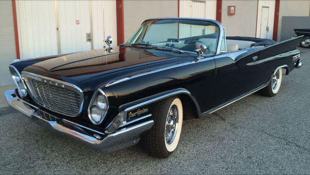 1961 chrysler new yorker convertible extremely rar for. Black Bedroom Furniture Sets. Home Design Ideas