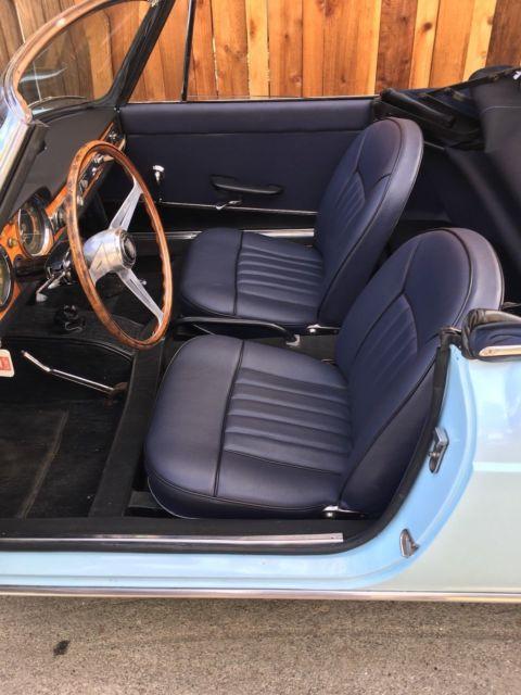 1961 Fiat 1500 Osca Pinninfarina Convertible For Sale In Long Beach
