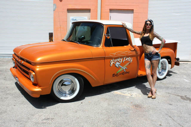 1961 Ford F100 Short Box Step Side Show Truck Rat Rod