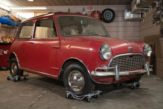 1962 Austin Mini Super Barn Find Super Rare