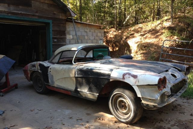 1962 corvette resto mod project car for sale in north little rock arkansas united states. Black Bedroom Furniture Sets. Home Design Ideas