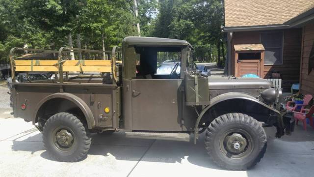 1962 dodge m37 military restored mint powerwagon power for Motorized wagon for sale