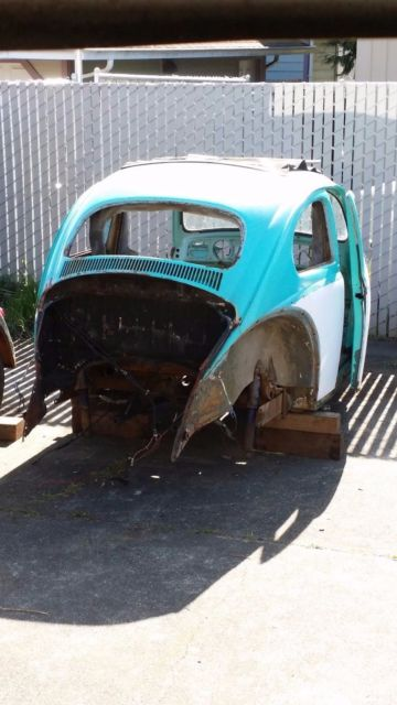 1962 VW Beetle Shell for sale in Eureka, California ...