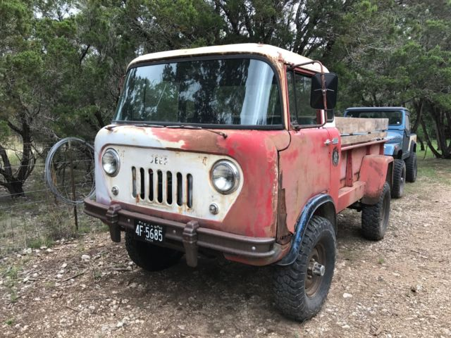 1962 Willys Jeep FC170 with Dump Bed and Granny 4-spd for