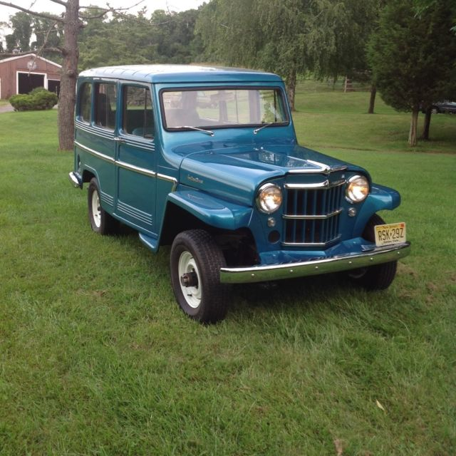 Used Jeeps For Sale In Nj >> 1962 Willys Jeep Wagon Restored for sale in Asbury, New ...
