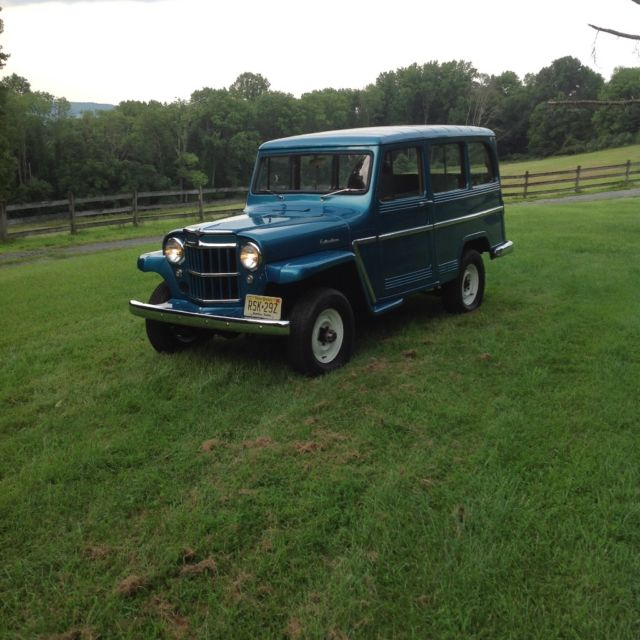 1962 Willys Jeep Wagon Restored For Sale In Asbury, New
