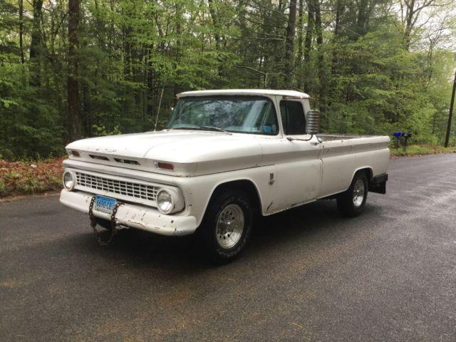 1963 chevy c20 pickup truck 3 4 ton 2500 barn find survivor patina for sale in stafford springs. Black Bedroom Furniture Sets. Home Design Ideas