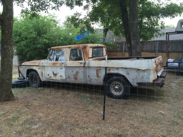 1963 Dodge D200 Crew Cab Truck 318 V8 Antique Vintage