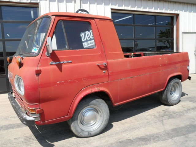 1963 Ford E100 Pickup Project offered by Gas Monkey Garage