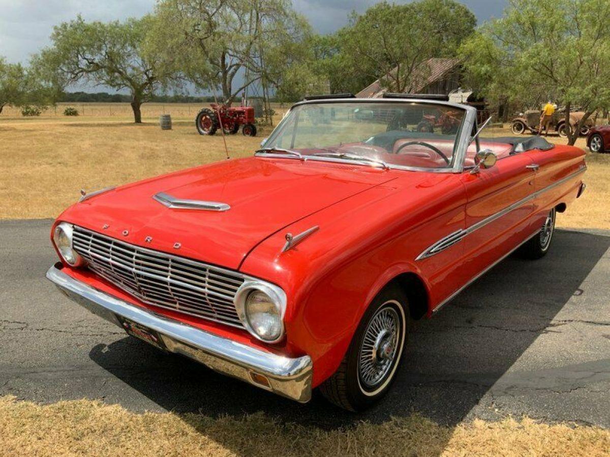 1963 Ford Falcon Futura Convertible 6 Cyl 3 Speed Buckets