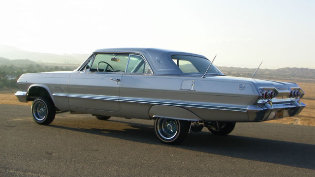 1963 impala custom lowrider for sale in moreno valley. Black Bedroom Furniture Sets. Home Design Ideas