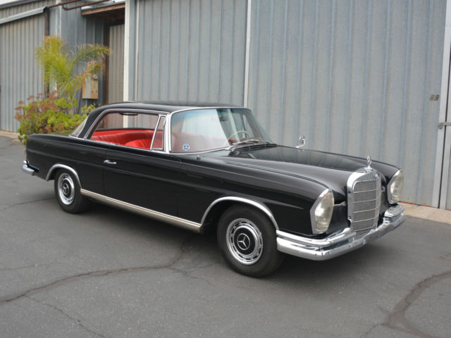 1963 mercedes benz 220se coupe award winner new paint for Mercedes benz dealer van nuys