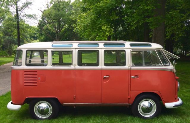 1963 red white vw 23 window van for sale in united states for 1963 vw 23 window bus for sale