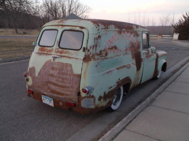 1964 Dodge D100 Panel Van Rat Street Hot Rod 318 V8 904