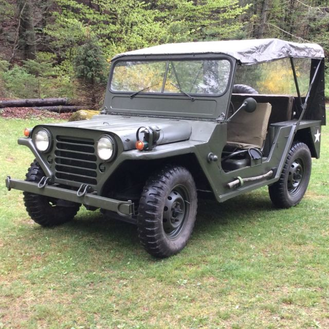 Used Jeeps For Sale In Ny: 1964 M151a1 Military Jeep Mutt M151a2 For Sale In
