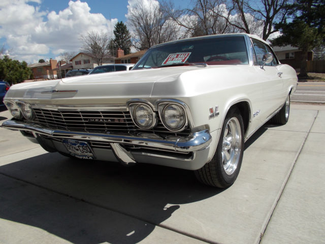 1965 chevrolet impala super sport fully restored convertible for sale in colorado springs. Black Bedroom Furniture Sets. Home Design Ideas