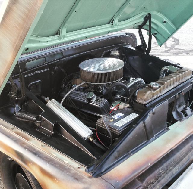 Big Block Chevy Blower Pistons: 1965 Chevy C10 Patina Truck 62 63 64 66 67 68 69 70 71 72
