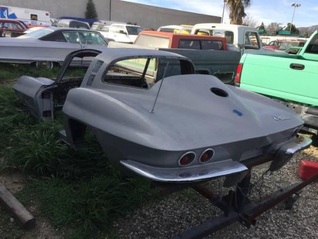 1965 corvette coupe pro touring project c7 chassis for sale in clovis  california  united states