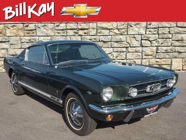 1965 ford mustang 11057 miles green fastback 4 speed. Black Bedroom Furniture Sets. Home Design Ideas