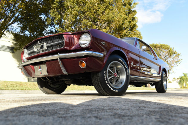 1965 Ford Mustang Coupe not fastback Shelby tribute cobra