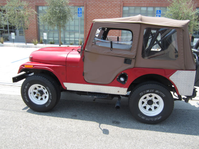 1965 Kaiser Jeep Cj5 For Sale In Santa Barbara California United