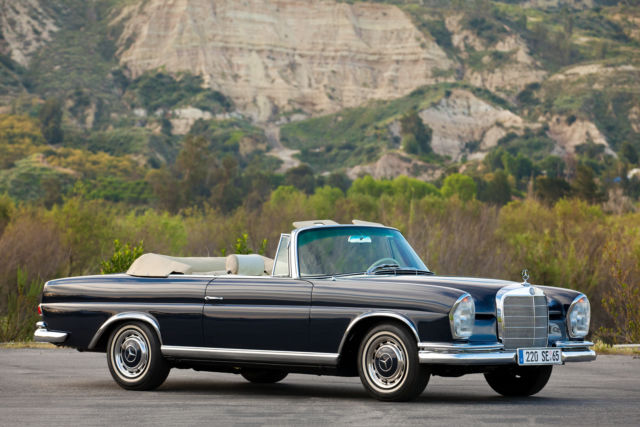 1965 Mercedes Benze 220se Cabriolet Practically New Total