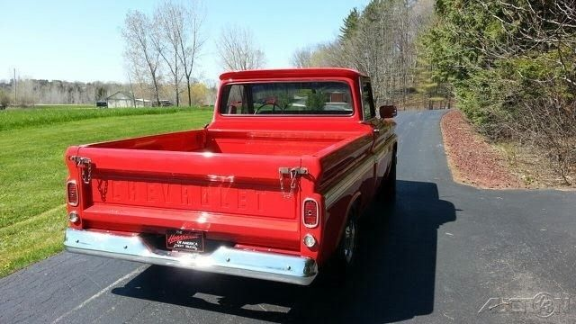 1966 chevrolet c10 fleetside shortbox used automatic pickup truck chevy for sale in manitowoc. Black Bedroom Furniture Sets. Home Design Ideas