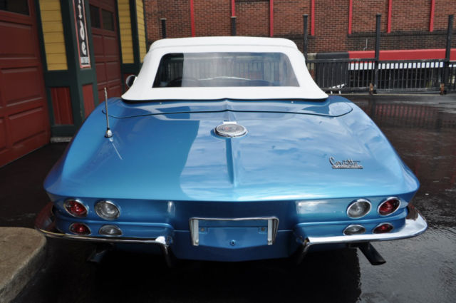 1966 Chevrolet Corvette Nassau Blue/Blue-White #'s Matching