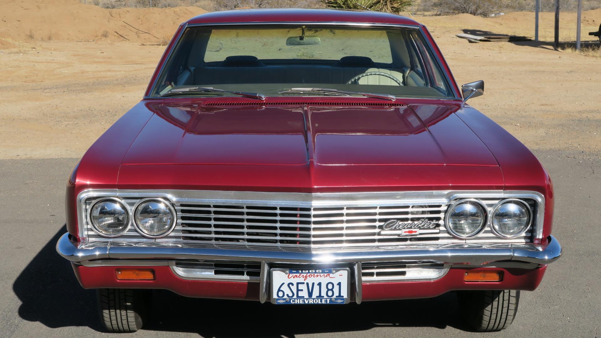 1966 Chevrolet Impala Sedan Ca Car 350 V8 Only 3200 Miles On Full Chevy Frame Restoration