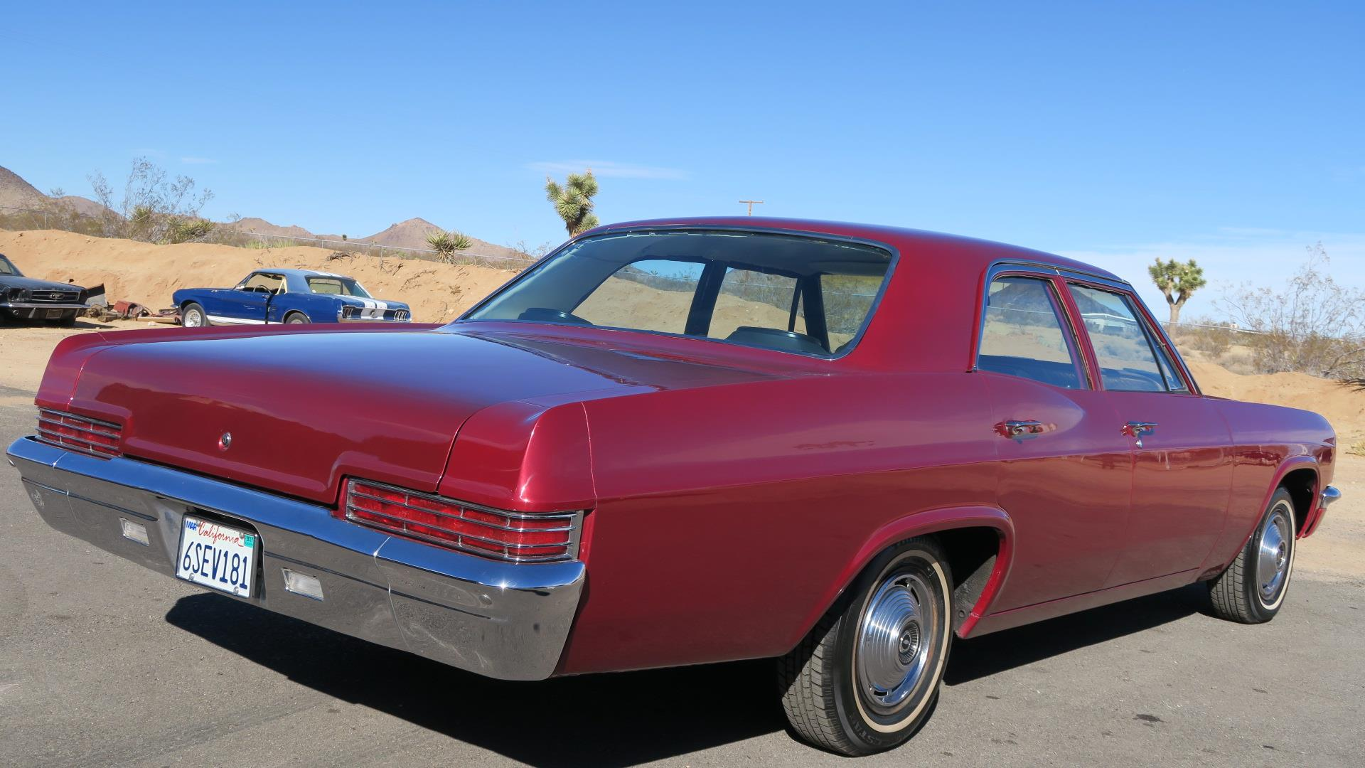 1966 Chevrolet Impala Sedan Ca Car 350 V8 Only 3200 Miles On Full Chevy Frame Prevnext