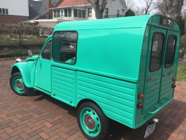 1966 citroen 2cv truckette for sale in saint paul