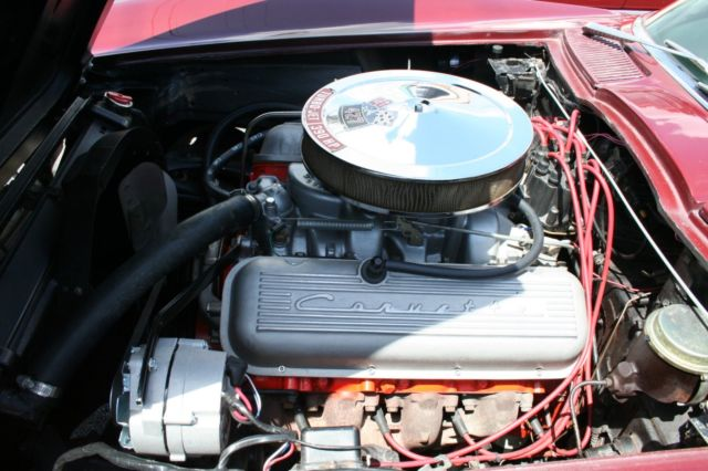 1966 Corvette Coupe 454/450HP LS6 Motor Real Big Block Car