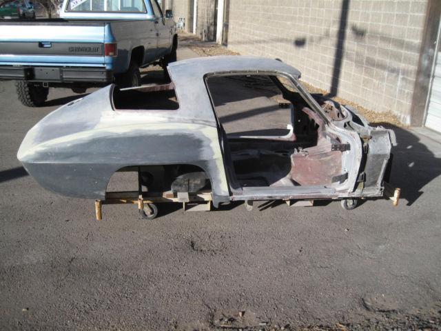 1966 Corvette Coupe Body, resto-mod, vintage race car for sale in