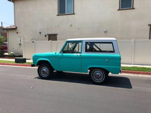 "1966 FORD BRONCO ""UNCUT"" Original for sale in Orange ..."