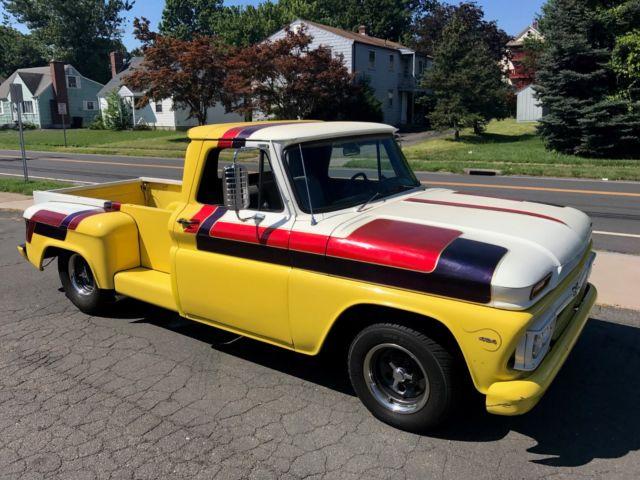 1966 GMC / Chevy Long bed custom Stepside 454 back halved