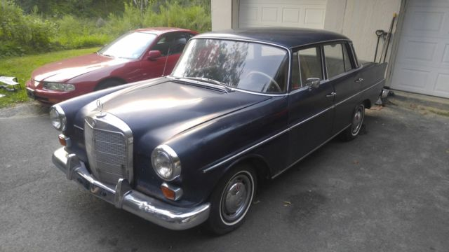 1966 mercedes benz 230 fintail w111 second series for sale for Mercedes benz newton nj